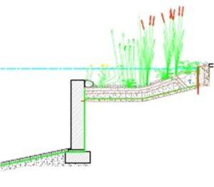 filtr hydrobotaniczny stawu kąpielowego