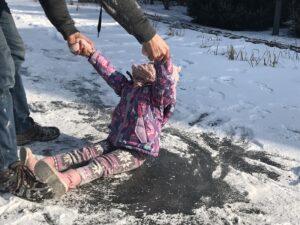 staw kąpielowy zimowe zabawy