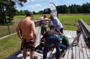 komora filtracyjna do stawu kąpielowego - szkolenie