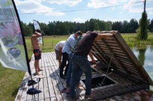 szkolenie filtracja wody w stawach kąpielowych